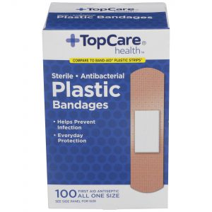 Plastic Bandages 100 Ct