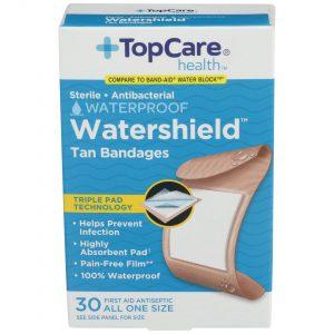 Watershield Tan Bandages 30 Ct