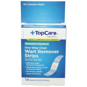 Max Strength One-Step Wart Remover Strips 14 Ct