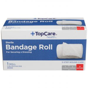 Bandage Roll Step 3 for 3-Step Wound Care  4.5 In X 4 Yd