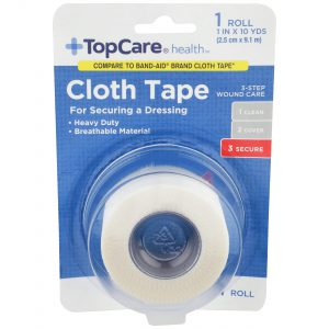 Cloth Tape Step 3 for 3-Step Wound Care 1 In X 10 Yd