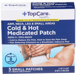 Cold & Hot Medicated Patch 5 Ct