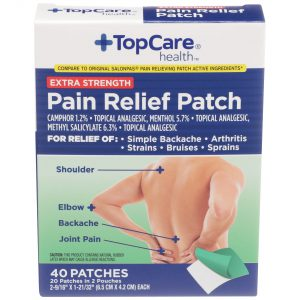 Extra Strength Pain Relieving Patch 40 Ct