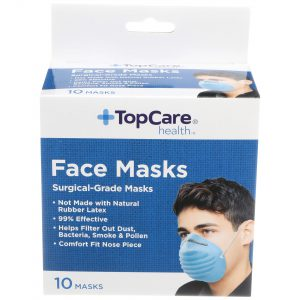 Face Mask Cone Style 10 Ct