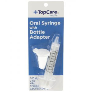 Oral Syringe with Bottle Adapter 10Ml