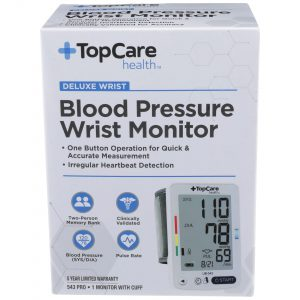 Blood Pressure Wrist Monitor Deluxe