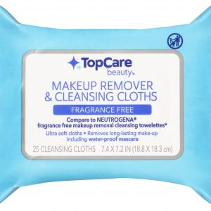 Makeup Remover & Cleansing Cloths, Fragrance Free