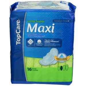 Maxi Pads Long Super with Wings