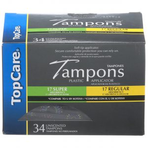 Tampons Compact Plastic Multipack