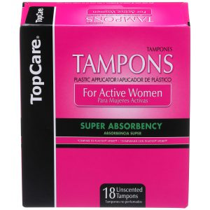 Tampons Plastic for Active Women Super