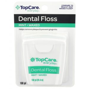 Dental Floss Waxed, Mint