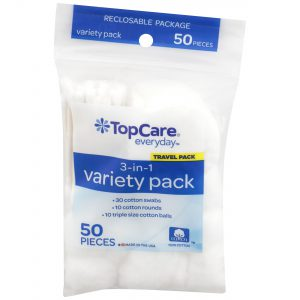 Cotton Variety Pack (30 Swabs/ 10 Rounds/ 10 Balls)