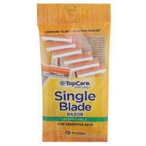 Single Blade Disposable Razors