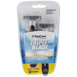 Triple Blade Men's Disposable Razors