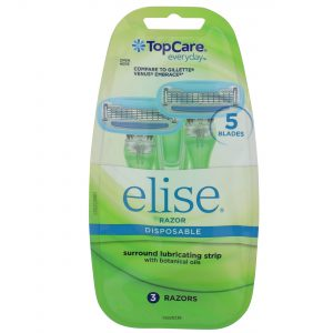 Elise 5 Blade Women's Disposable Razors