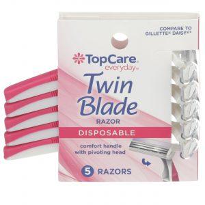 Twin Blade Women's Disposable Razors