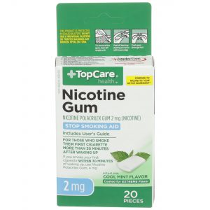 Nicotine Gum Coated Cool Mint 2Mg 20 Ct