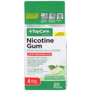 Nicotine Gum Coated Cool Mint 4Mg 20 Ct