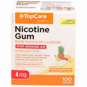 Nicotine Gum Coated Fruit Wave 4Mg 100 Ct