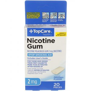 Nicotine Gum Uncoated Original 2Mg 20 Ct