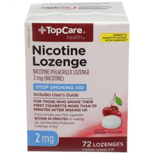 Nicotine Lozenge Cherry 2Mg 72 Ct