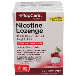 Nicotine Lozenge Cherry 4Mg 72 Ct