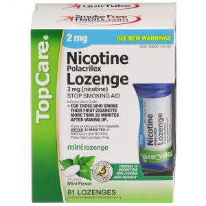 Nicotine Lozenge Sugar Free Mini Mint 2Mg 3X27 81 Ct