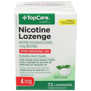 Nicotine Lozenge Mint 4Mg 72 Ct