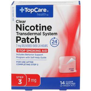 Nicotine Patch Step 3 7Mg 14 Ct