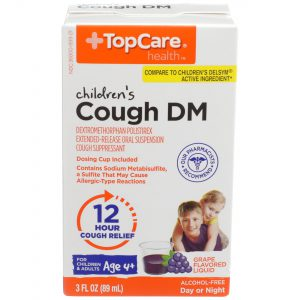 Children's Cough DM 12Hr Liquid Grape 3 Oz