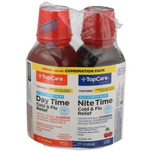 Day Time & Nite Time Cold & Flu Relief Liquid 24 Oz