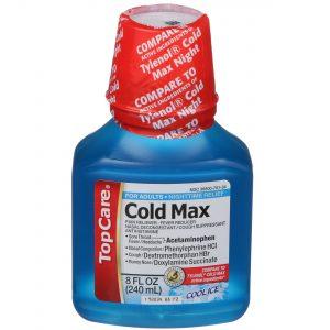 Cold Max Liquid Cool Ice 8 Oz