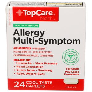 Allergy Multi-Symptom PE Caplet 24 Ct