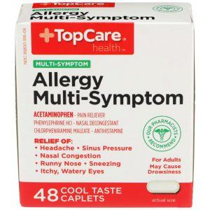Allergy Multi-Symptom PE Caplet 48 Ct