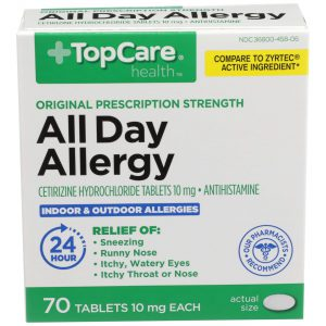 All Day Allergy Cetirizine Tablet 70 Ct