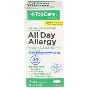 All Day Allergy Cetirizine 24Hr Tablet 300 Ct