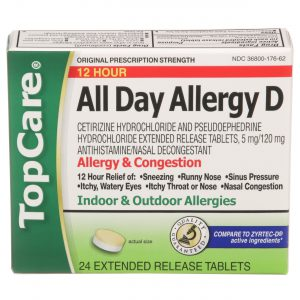 All Day Allergy-D 12Hr Extended Release Tablet 24 Ct