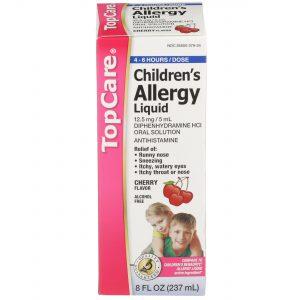 Children's Allergy Liquid Cherry 8 Oz