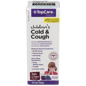 Children's Cold & Cough DM Liquid Grape 4 Oz