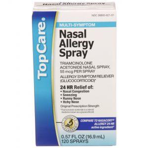 Nasal Allergy Spray 24 HR 120 Metered Sprays