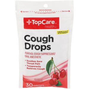 Cough Drop Cherry 30 Ct