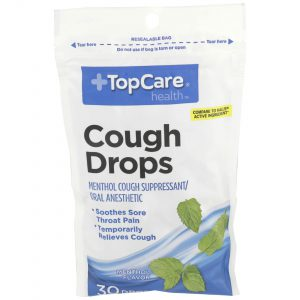 Cough Drop Menthol 30 Ct