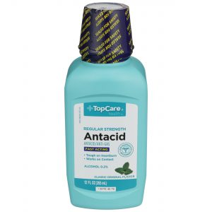 Antacid Fast Acting Liquid 12 Oz
