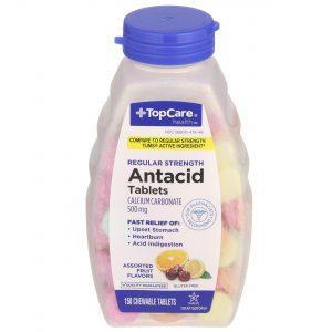 Antacid Tablet Assorted Fruit 150 Ct