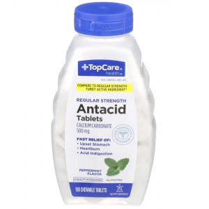 Antacid Tablet Peppermint 150 Ct