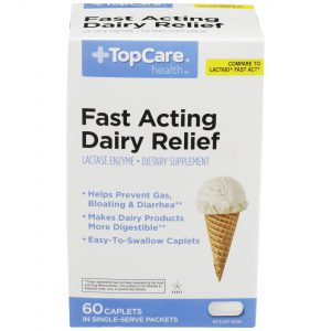 Fast Cating Dairy Relief Caplet 60 Ct