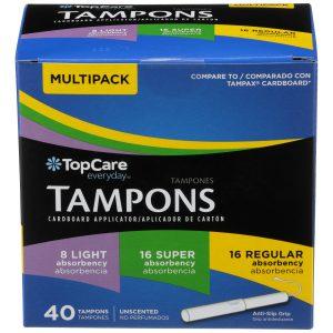 Tampons Cardboard Multipack