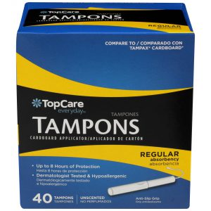 Tampons Cardboard Regular