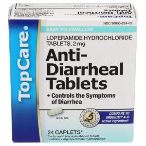 Anti-Diarrheal Tablets 24 Ct
