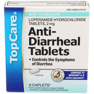 Anti-Diarrheal Tablets 6 Ct